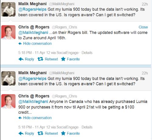 Rogers credit