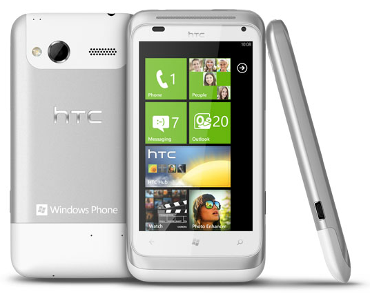 Htc radar 4g winsource for Window 4g phone