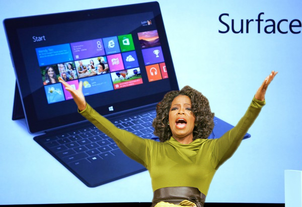 Microsoft giving employees free Surface RT tablets ...