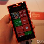 red HTC 8X