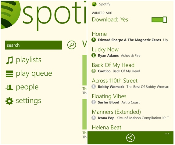 Spotify-for-Windows-Phone-7