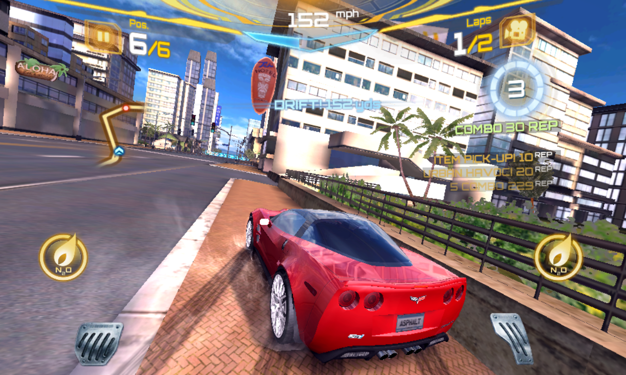 Asphalt 7 Heat Mobile Game for Android iOS and Windows Mobile