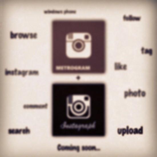 instagram metro