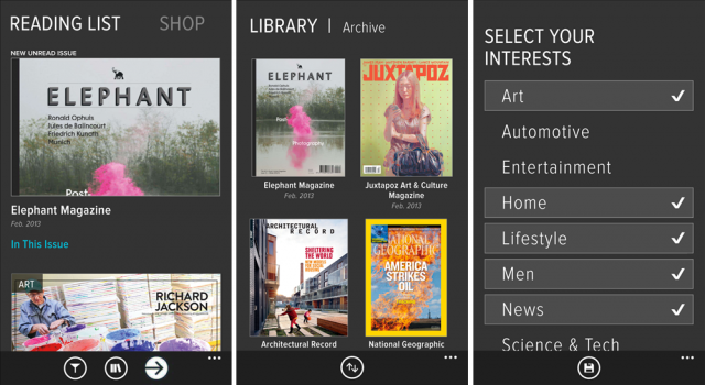Zinio Digital News-stand App Lands in Windows Phone marketplace, Lumia Exclusive