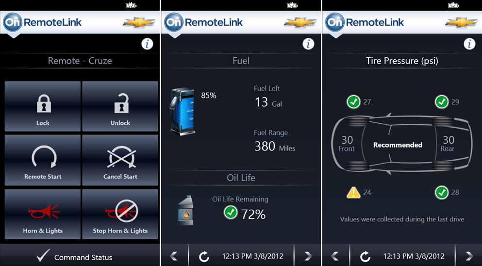 onstar remotelink turns your phone into a remote control