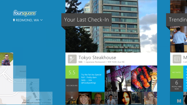 foursquare windows 8