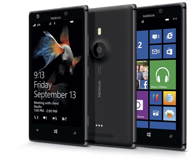 lumia 925 ATT black