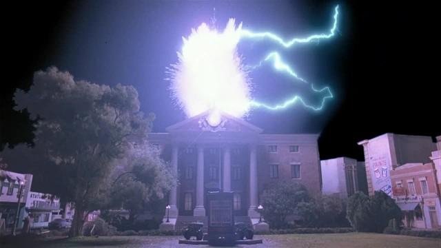 BTTF lightning