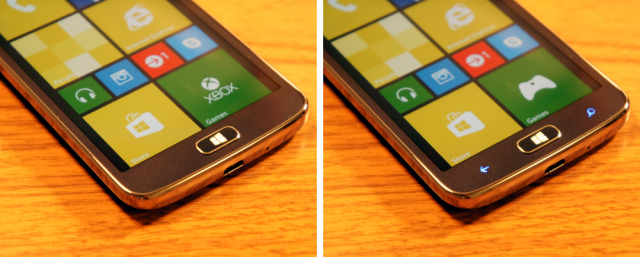 ativ s neo buttons