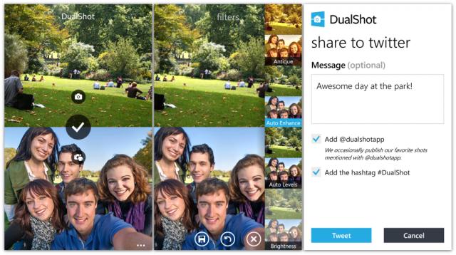 dualshot screens