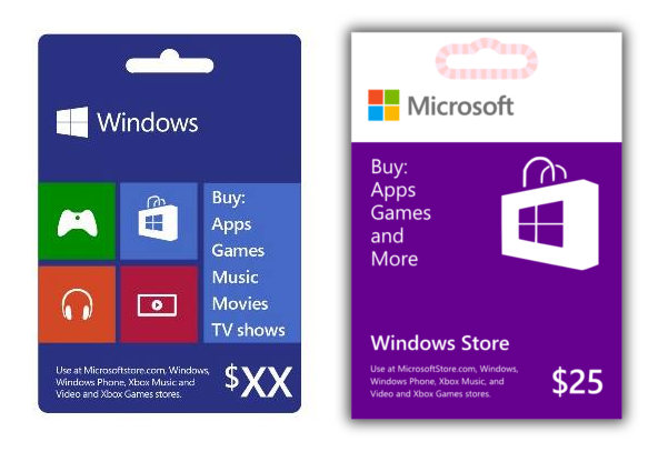 new windows gift card 2