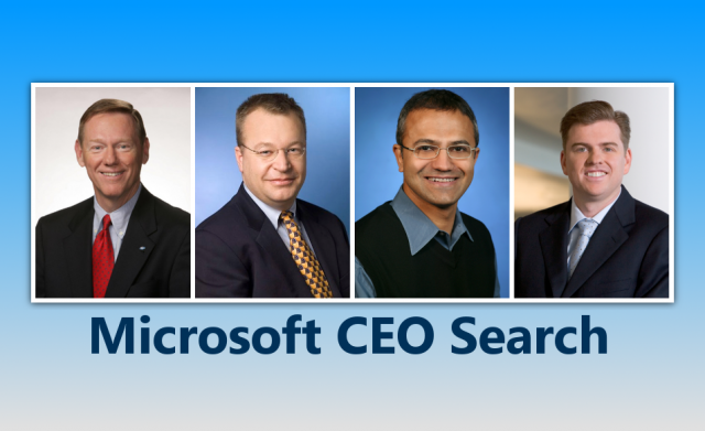 microsoft ceo search