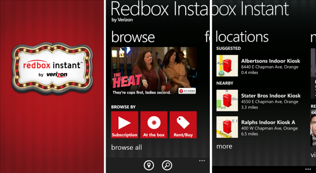 "Redbox Instant will also integrate with other Xbox One apps, like the new Snap feature. ""One of the coolest features of the Xbox One is the ability to multitask. ""One of the coolest features of the Xbox One is the ability to multitask."