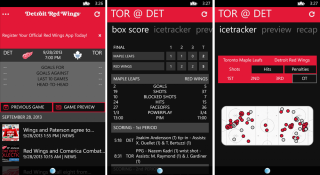 red wings app