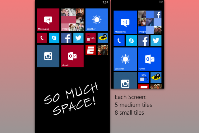 start screen space
