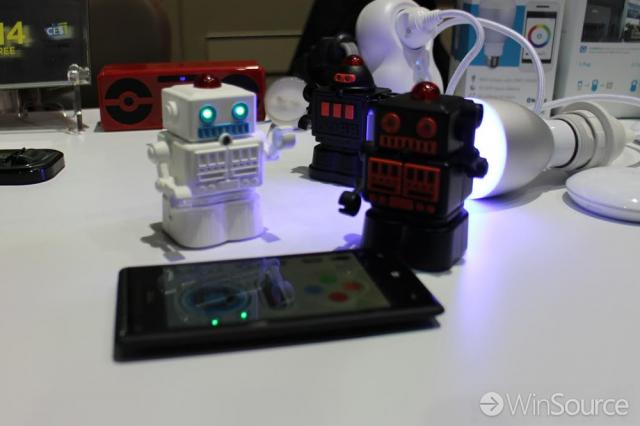 windows phone robots