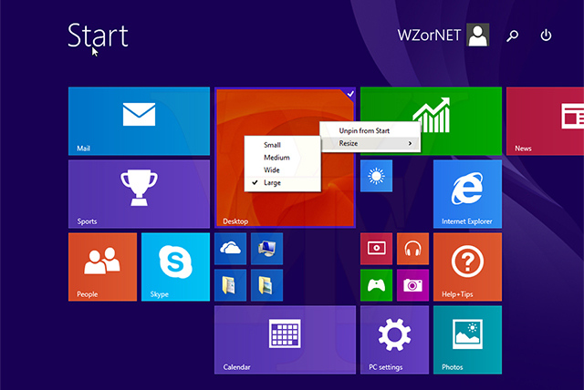 show changes to the Start Screen in Windows 8.1 Update 1  WinSource