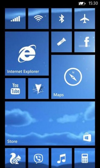 Microsoft Will Allow You To Skin Start Screen Tiles In Windows Phone