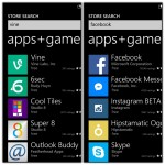 windows phone store search