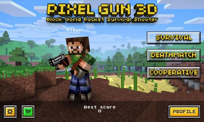 pixel gun 3d god mode hack apk